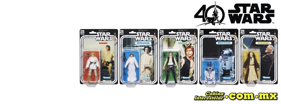 ¡Black Series 40 Aniversario!