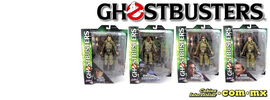 ¡Ghostbusters Select!
