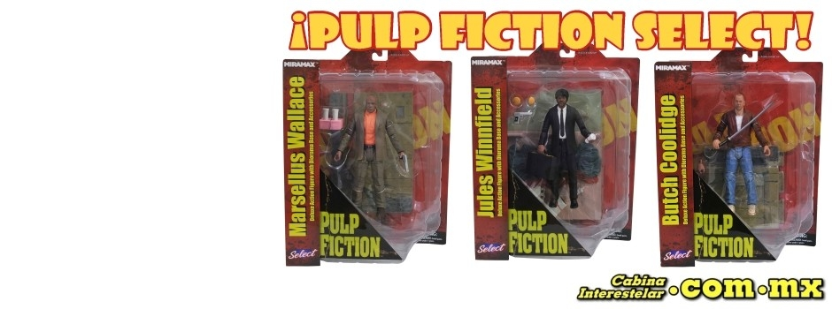 ¡Pulp Fiction Select!