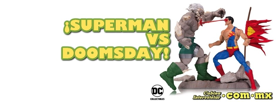 ¡Superman VS Doomsday!