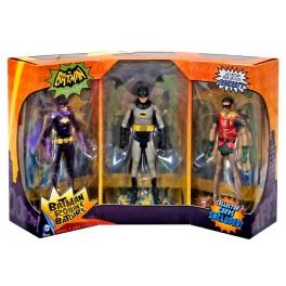 Batman Tv Series: Batman & Robin & Batgirl [3-Pack]