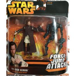 ROTS Deluxe: Obi-Wan Kenobi w/ Super Battle Droid C-7/8