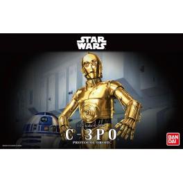 "Bandai: C-3PO 6"" Model Kit [Modelo para Armar]"